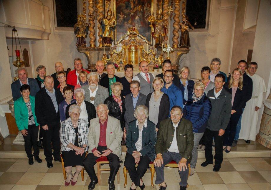 Ehejubiläum 2019 Pfarrei Neukirchen